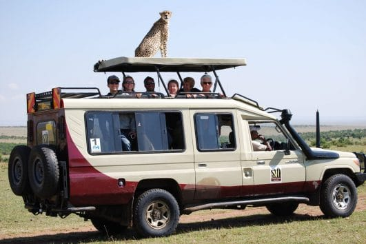 Luxury Safari in Selous Game Reserve, Tanzania