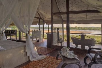 selous game reserve river suite