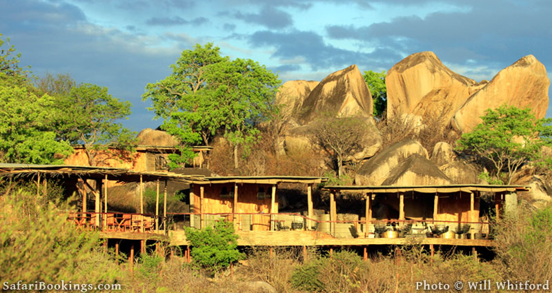 Jabali Ridge, a stylish new lodge in Ruaha National Park.
