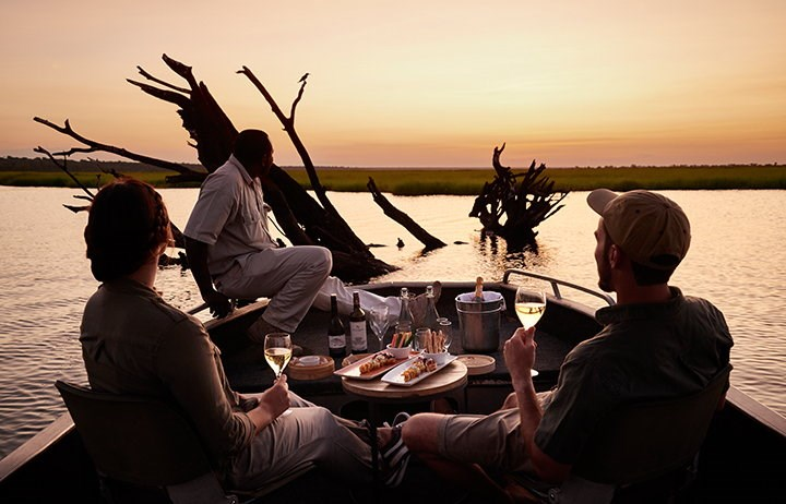 Sundowner Cruise Chobe